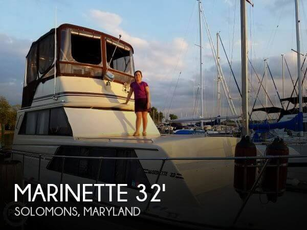 Used Marinette Boats For Sale by owner | 1988 Marinette 32