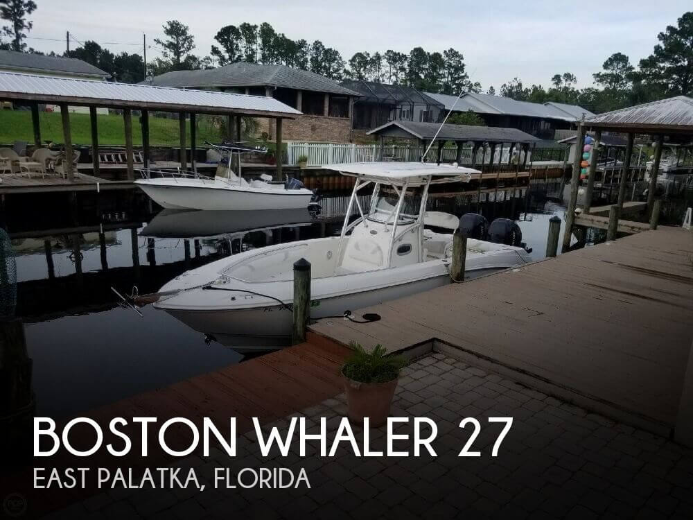 Used Boston Whaler 27 Boats For Sale by owner | 2007 Boston Whaler 27