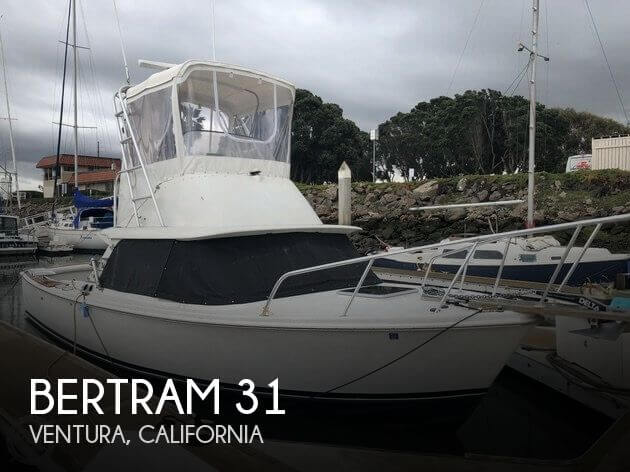Used Boats For Sale in Santa Maria, California by owner | 1968 Bertram 31