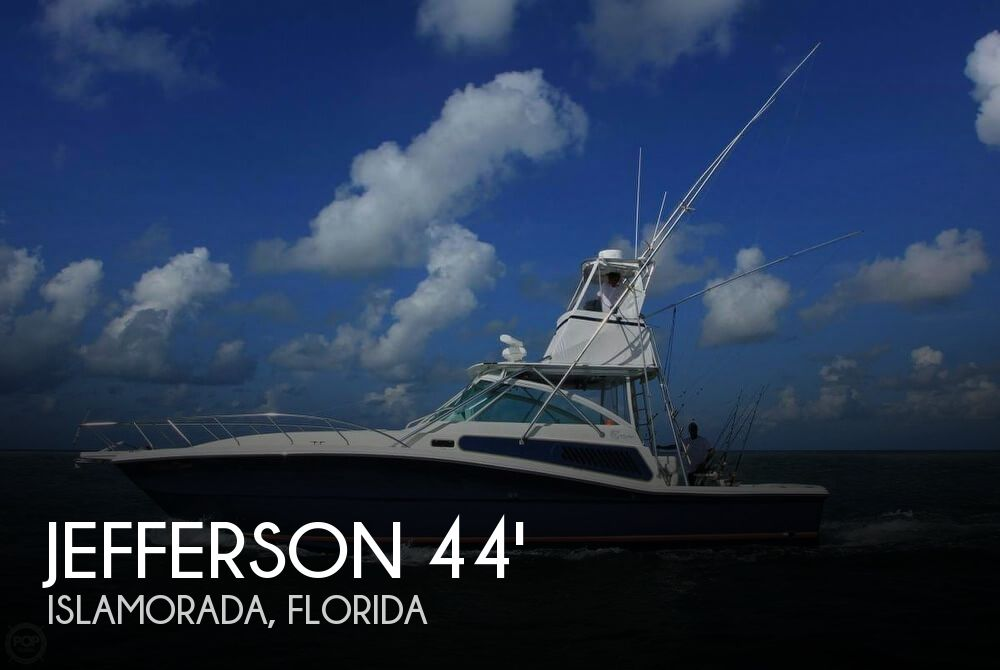 Used Jefferson Boats For Sale by owner | 2001 Jefferson 44