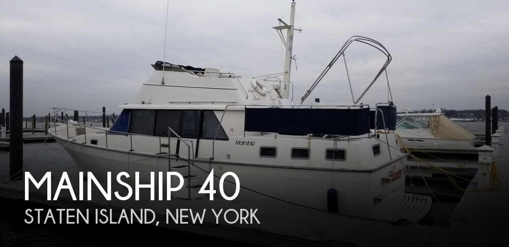 Used Mainship Motoryachts For Sale by owner | 1986 Mainship 40