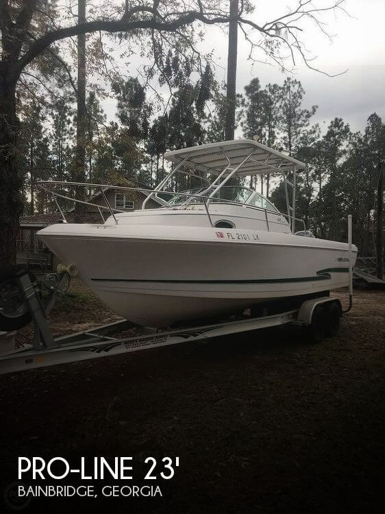 Used Boats For Sale in Tallahassee, Florida by owner | 2000 Pro-Line 23