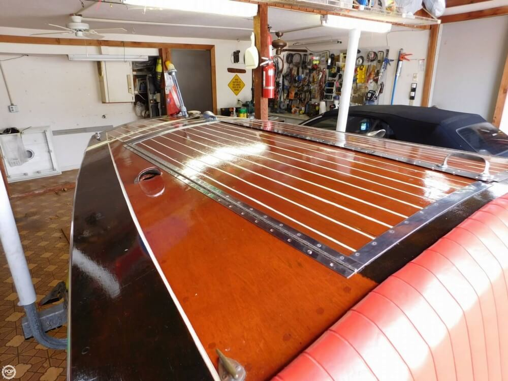 1939 Chris Craft boat for sale, model of the boat is Runabout Speed boat & Image # 35 of 40