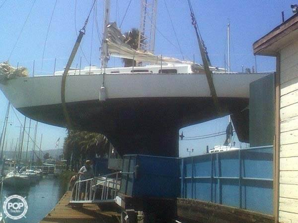 1972 Bristol boat for sale, model of the boat is 38 Aileron & Image # 3 of 4
