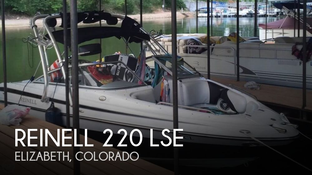 Used Boats For Sale in Boulder, Colorado by owner | 2008 Reinell 220 LSE