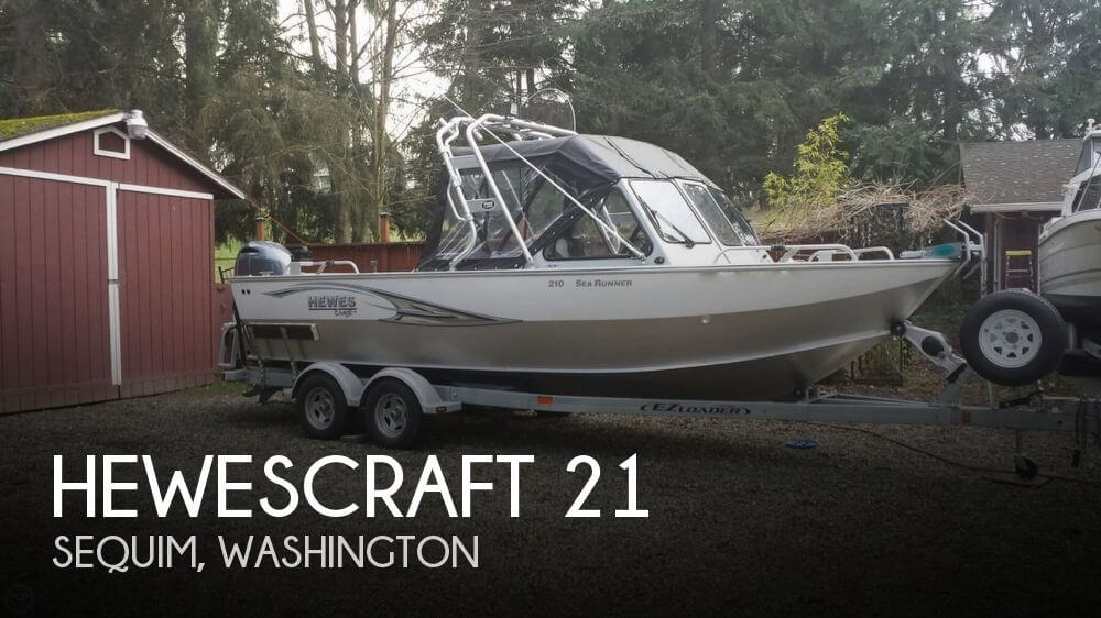 Used Fishing boats For Sale in Washington by owner | 2015 Hewescraft 21