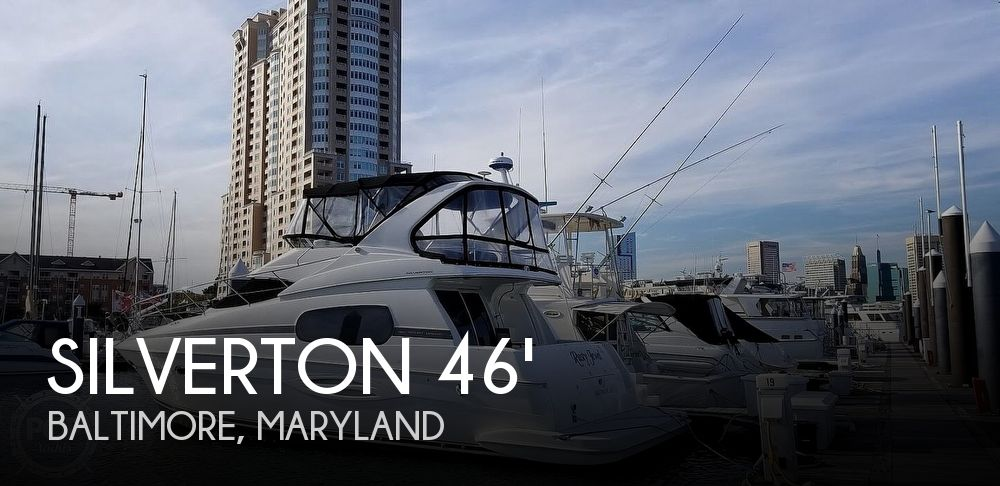 Used Boats For Sale in Maryland by owner | 2004 Silverton 410 Sport Bridge