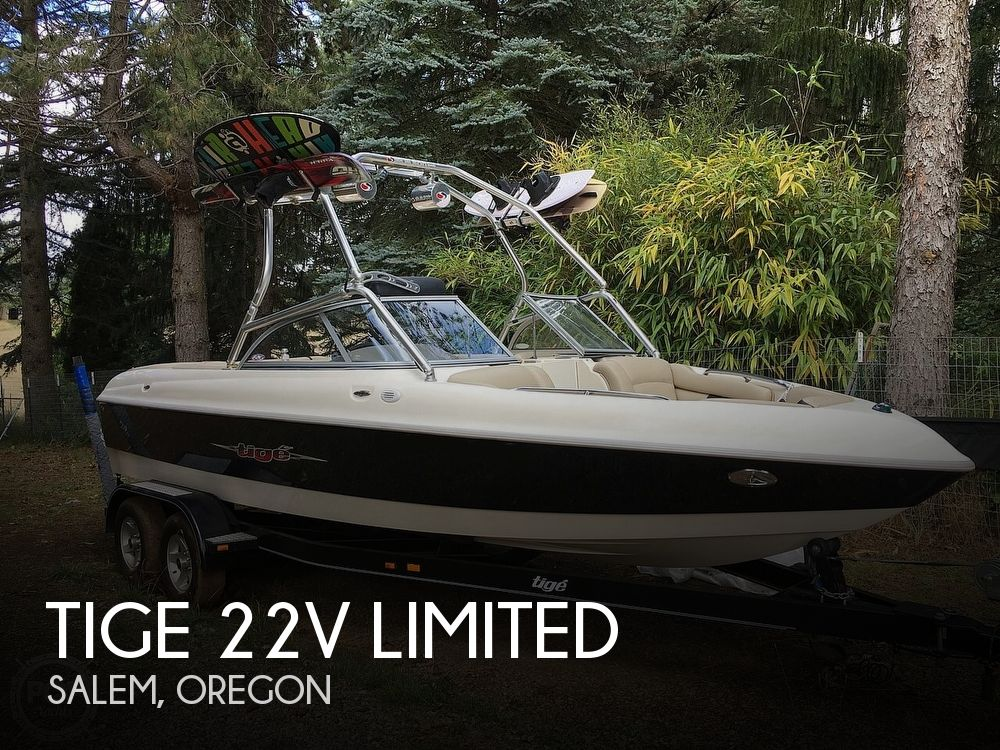 2004 Tige boat for sale, model of the boat is 22V Limited & Image # 1 of 40