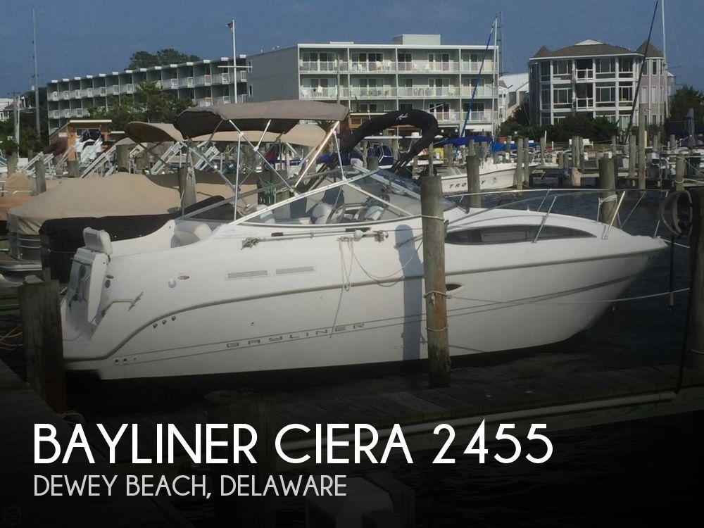 Used Bayliner Boats For Sale in Salisbury, Maryland by owner   2001 Bayliner Ciera 2455
