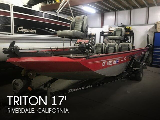 Used Boats For Sale in Visalia, California by owner | 2006 Triton 17