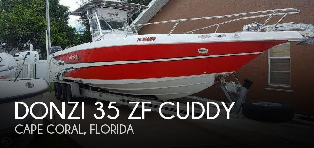 Used DONZI Boats For Sale by owner | 2000 Donzi 35