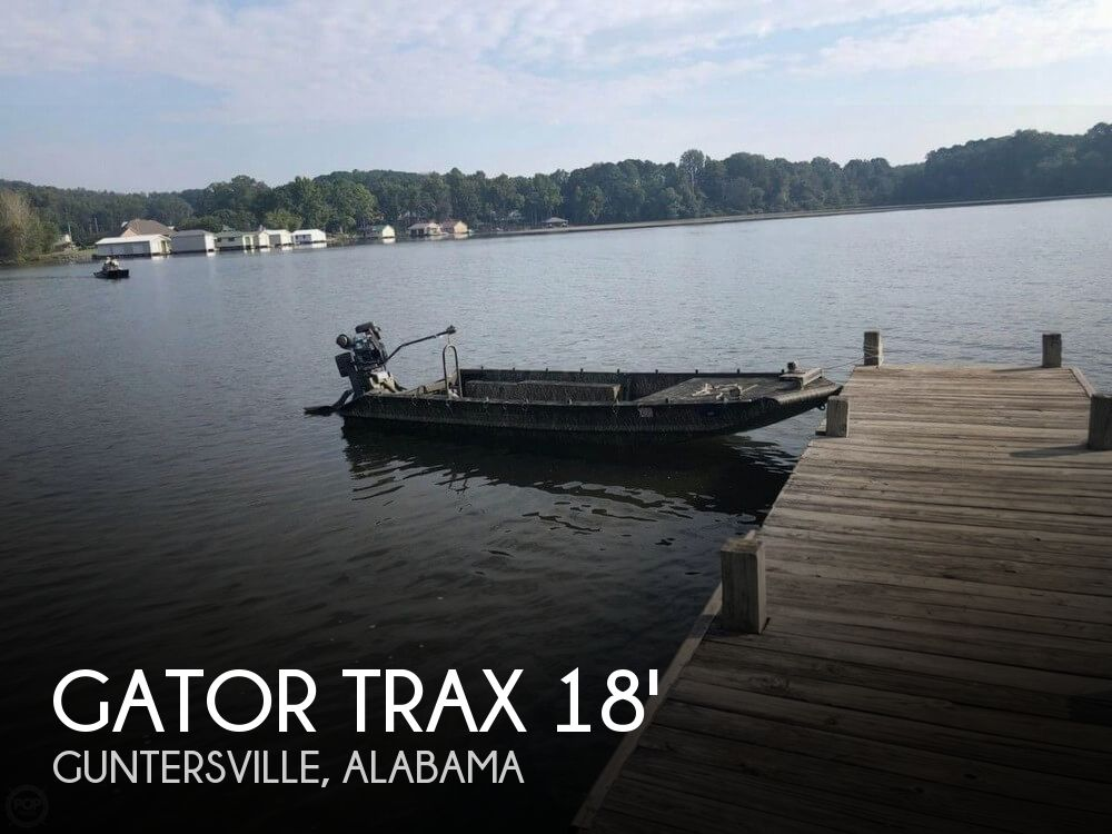 Used Gator Trax  Boats For Sale by owner | 2016 Gator Trax 18
