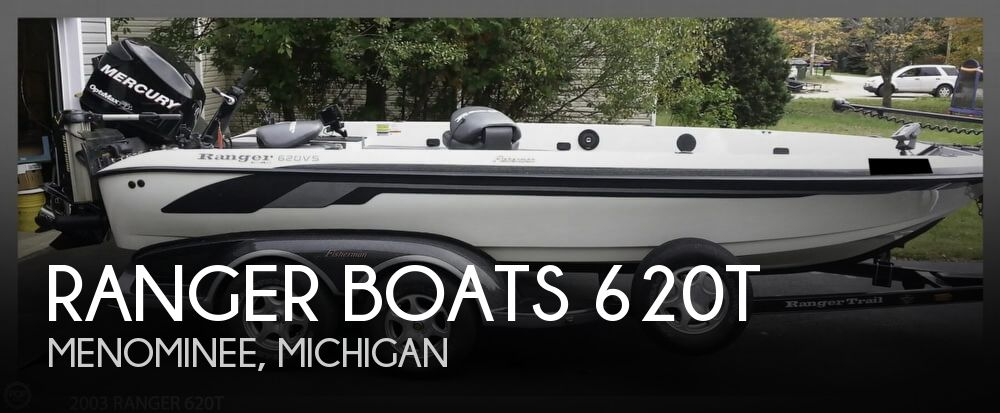 2003 Ranger Boats boat for sale, model of the boat is 620T & Image # 1 of 40
