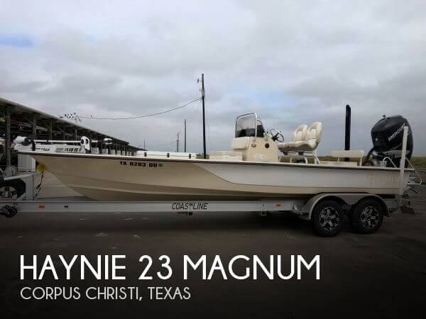 Used Boats For Sale in Corpus Christi, Texas by owner | 2017 Haynie 23