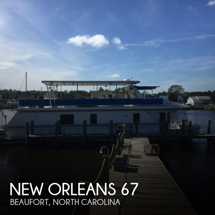 1999 New Orleans 67 Custom Houseboat