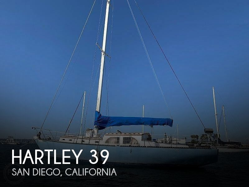 1982 Hartley boat for sale, model of the boat is 39 & Image # 1 of 40