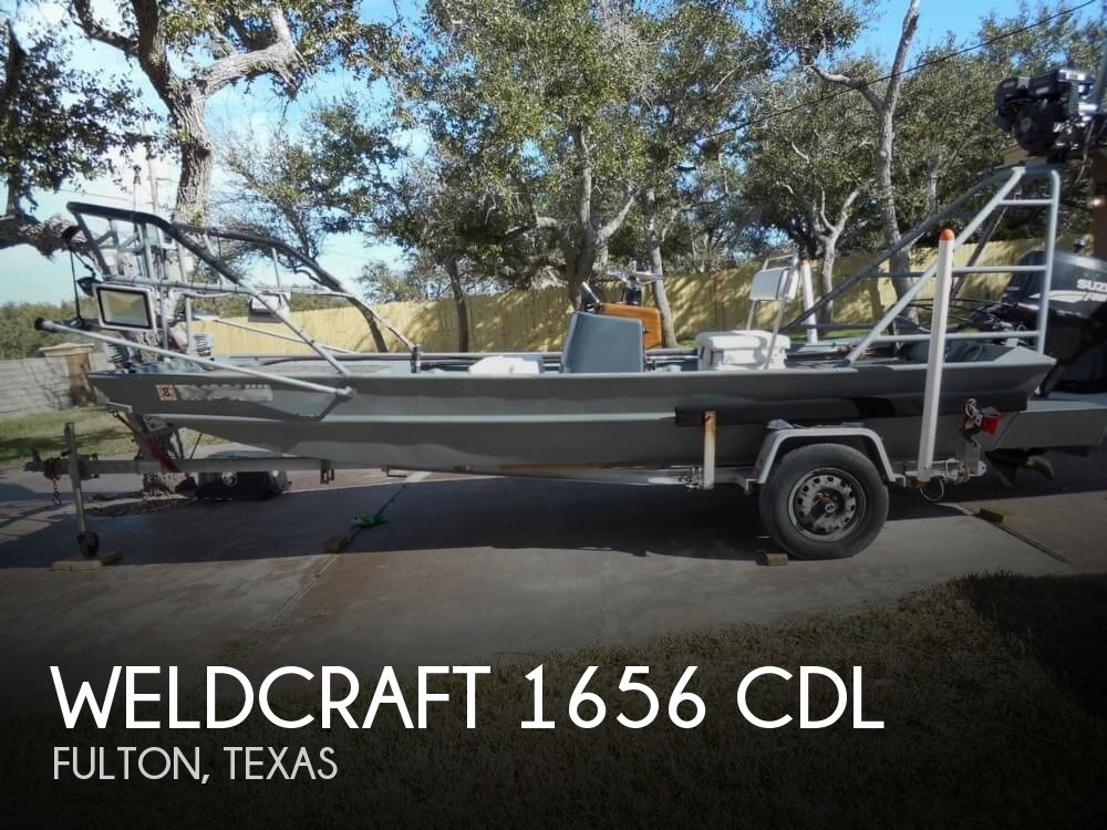 1997 Weld-Craft boat for sale, model of the boat is 1656 CDL & Image # 1 of 41
