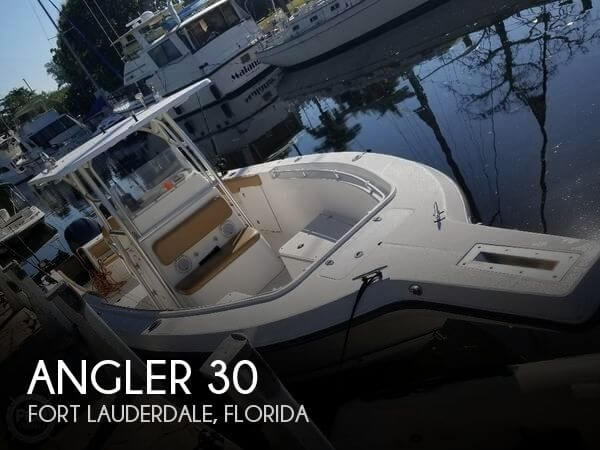 Used Angler Boats For Sale by owner | 2005 Angler 30