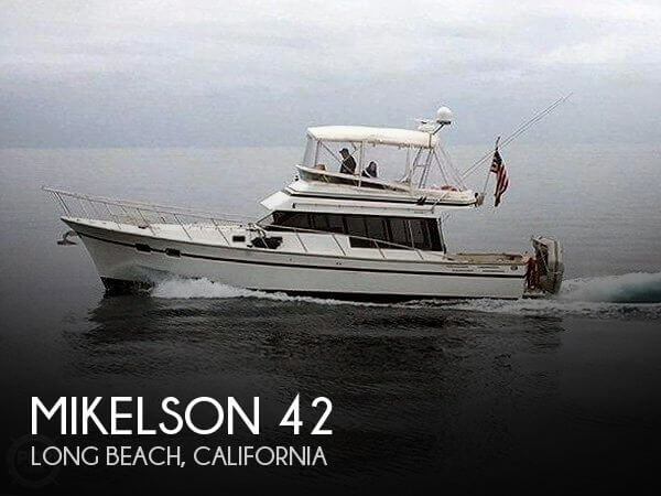 Used Fishing boats For Sale in California by owner | 1989 Mikelson 42