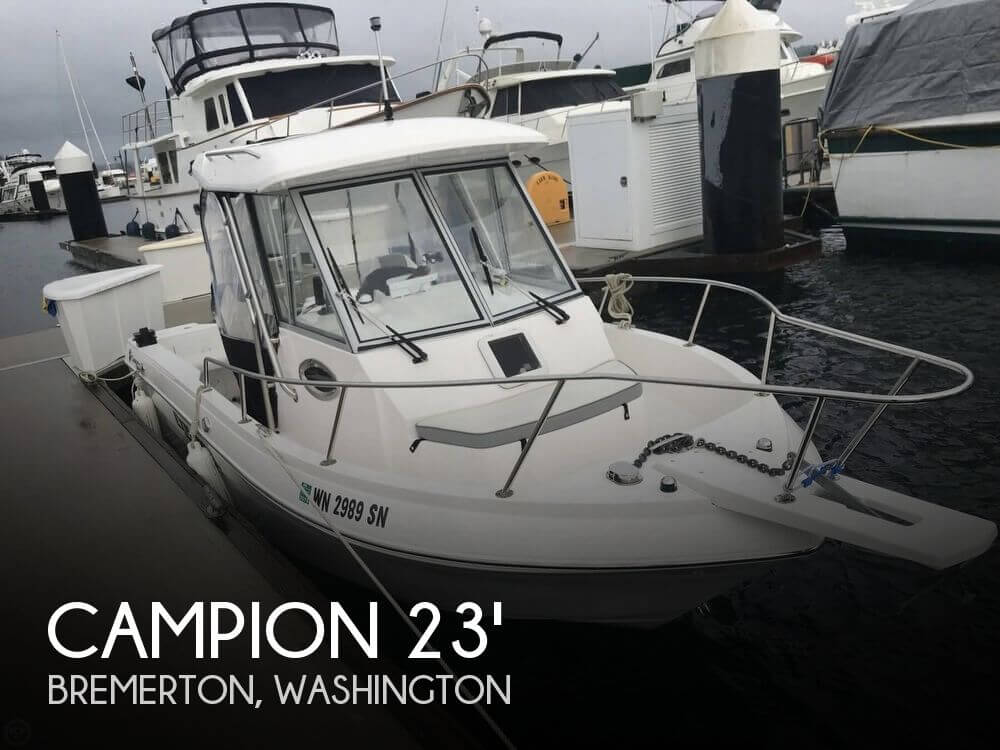 Used Ski Boats For Sale in Washington by owner | 2018 Campion 23