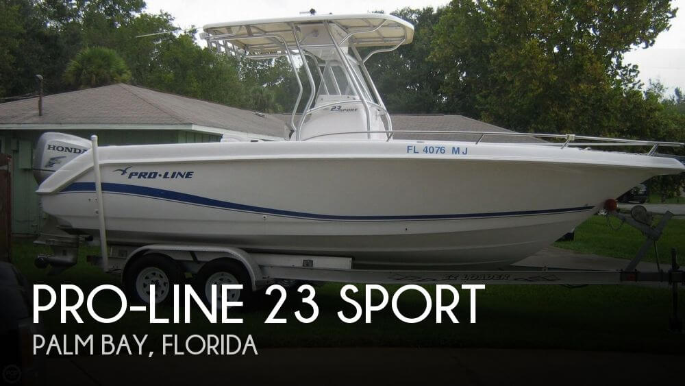 Used Pro-Line Boats For Sale in Florida by owner | 2004 Pro-Line 23 Sport