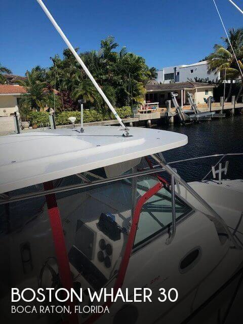 Used Boston Whaler Boats For Sale by owner | 2002 Boston Whaler 30