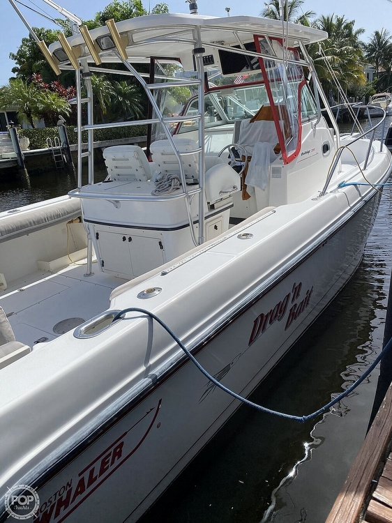 2002 Boston Whaler boat for sale, model of the boat is 290 Outrage & Image # 9 of 40
