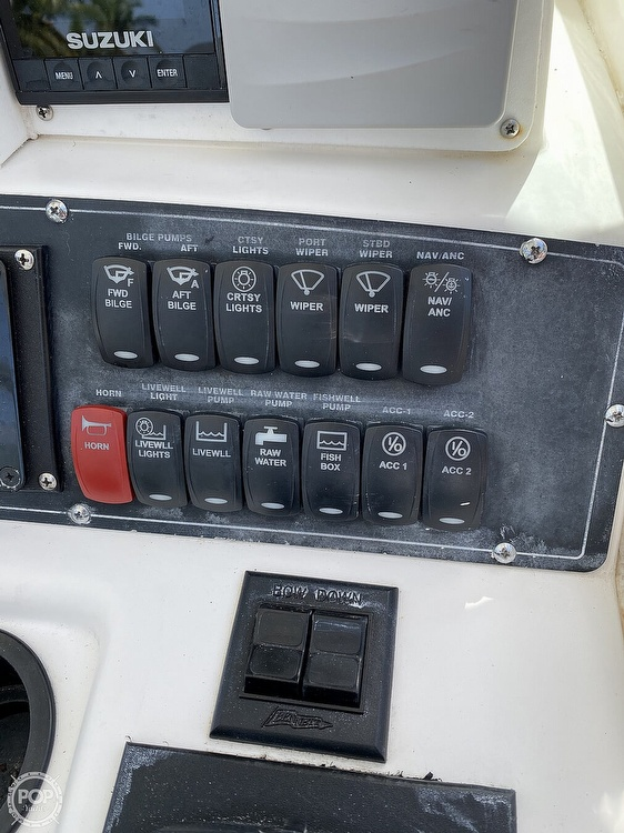 2002 Boston Whaler boat for sale, model of the boat is 290 Outrage & Image # 24 of 40