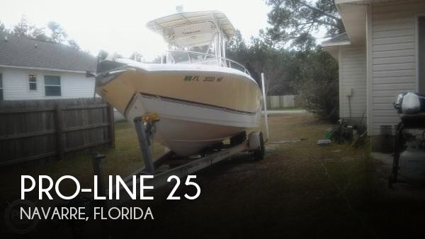 Used Pro-Line Boats For Sale in Florida by owner | 2005 Pro-Line 25
