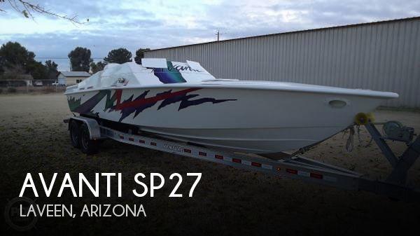 Used Avanti Boats For Sale by owner   2006 Avanti 27