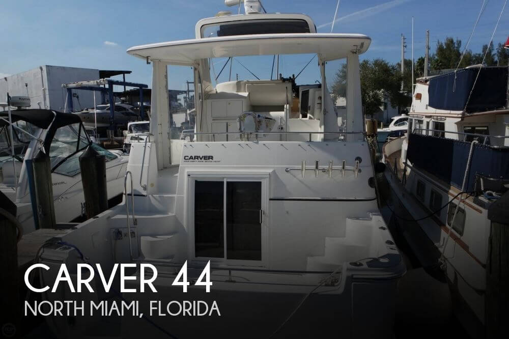 Used Motoryachts For Sale in Florida by owner | 2001 Carver 44