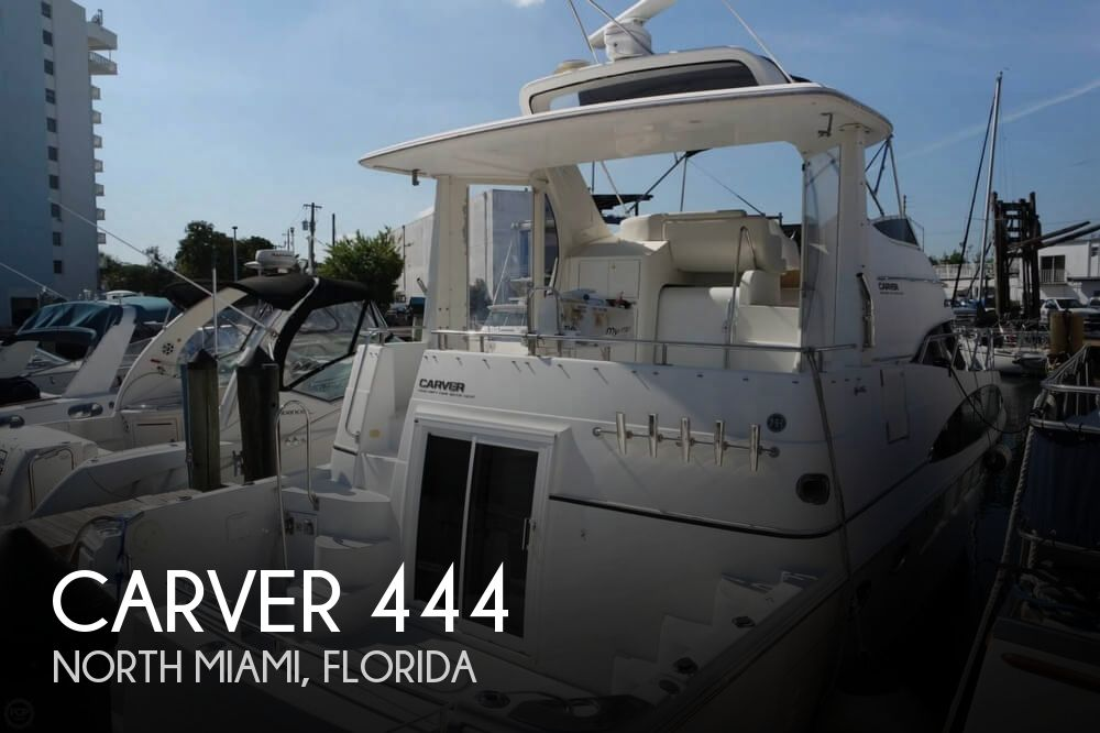 2001 Carver boat for sale, model of the boat is 444 Cockpit MY & Image # 1 of 40