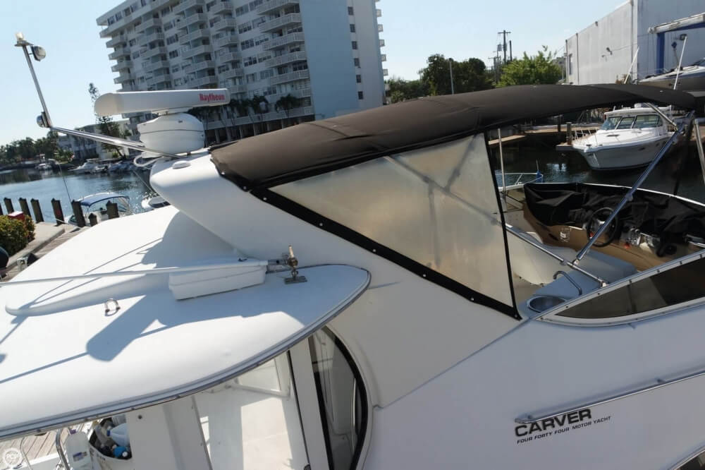 2001 Carver boat for sale, model of the boat is 444 Cockpit MY & Image # 21 of 40