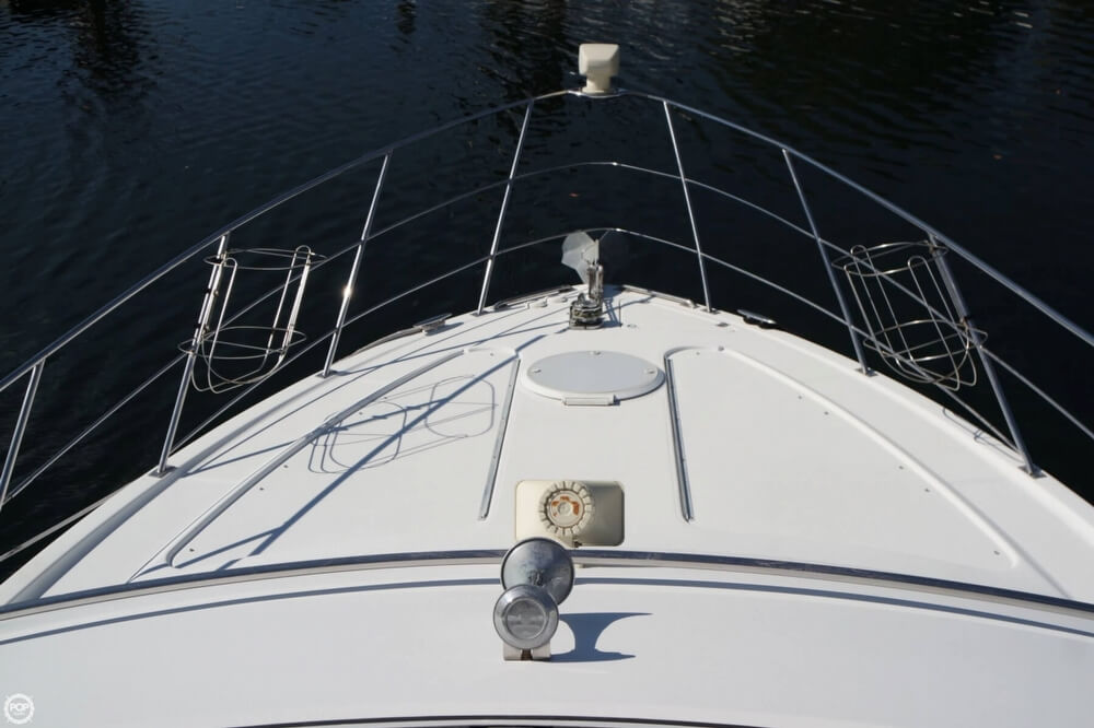 2001 Carver boat for sale, model of the boat is 444 Cockpit MY & Image # 31 of 40