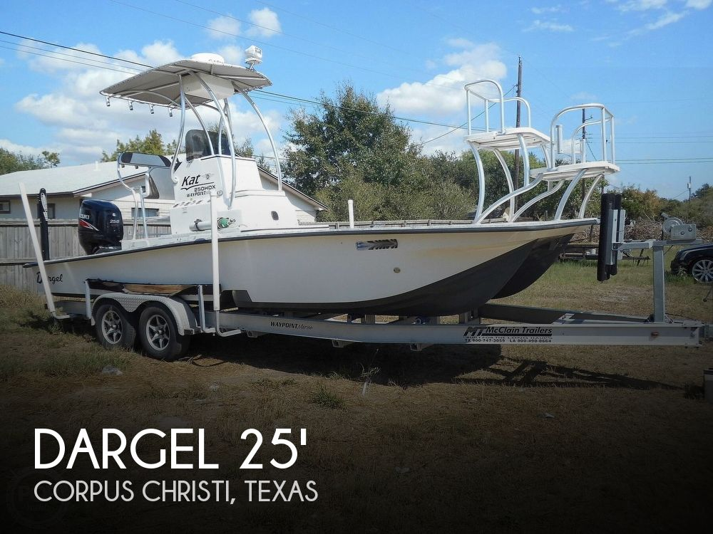 Used Boats For Sale in Corpus Christi, Texas by owner | 2014 Dargel KAT25 250 HDX