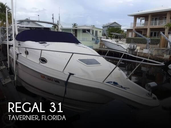Used Regal Boats For Sale in Florida by owner   2001 Regal 31