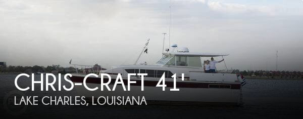 Used Chris-Craft Motoryachts For Sale by owner | 1980 Chris-Craft 41