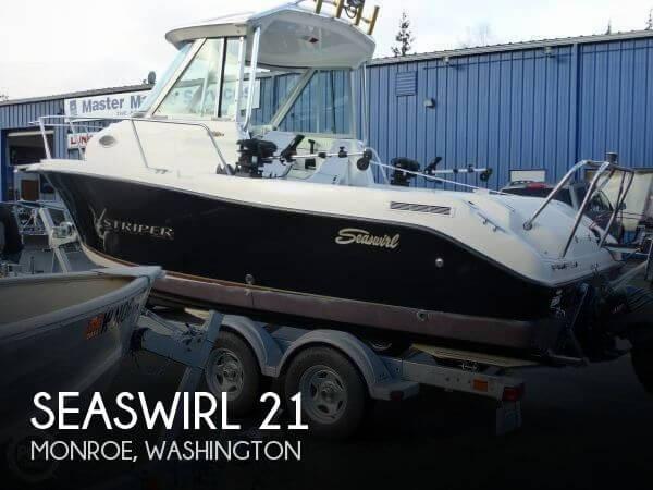 2007 Seaswirl 21