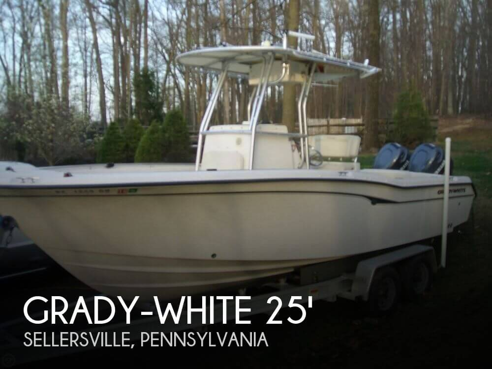 Used Boats For Sale in Allentown, Pennsylvania by owner | 2001 Grady-White 24