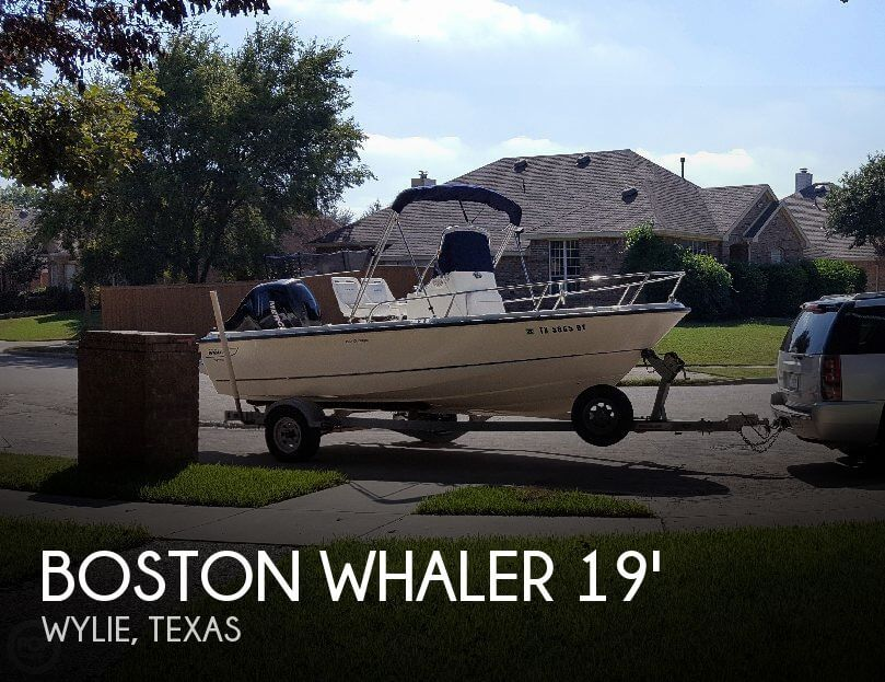 Used Boston Whaler 19 Boats For Sale by owner | 2007 Boston Whaler 19