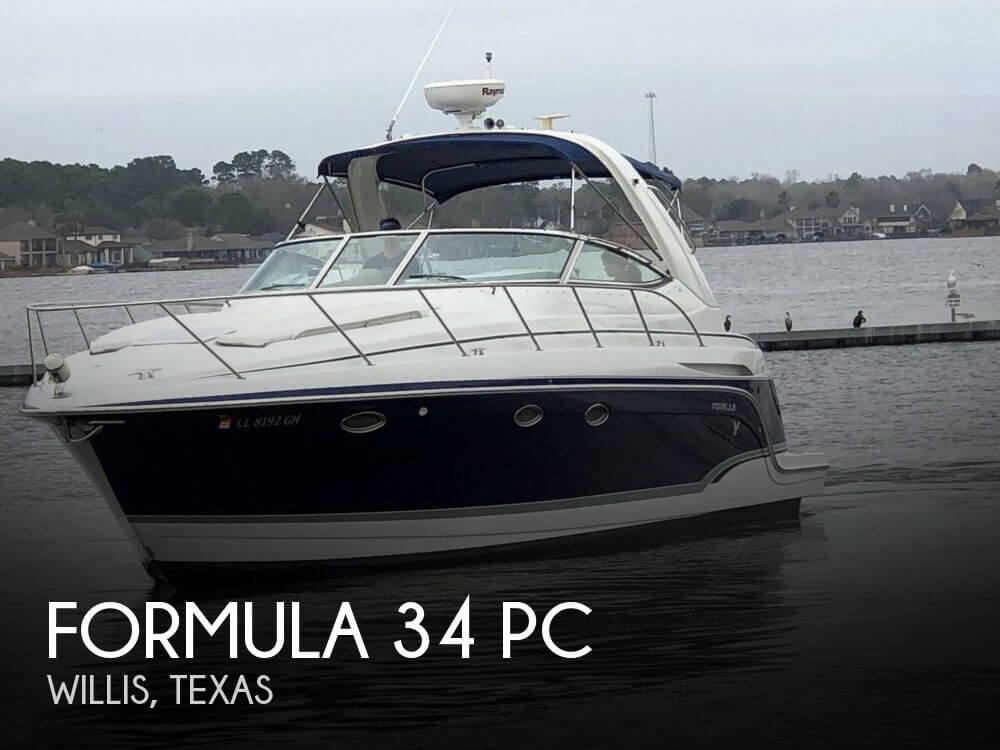 Used Boats For Sale in Houston, Texas by owner | 2007 Formula 34