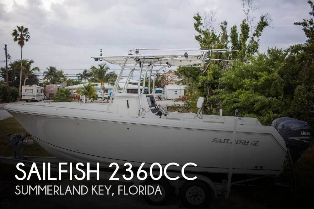 Used Sailfish Boats For Sale by owner | 2006 Sailfish 23