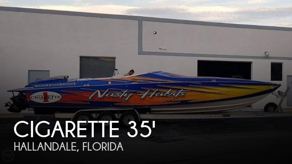 Used Cigarette Boats For Sale by owner | 1993 Cigarette 35