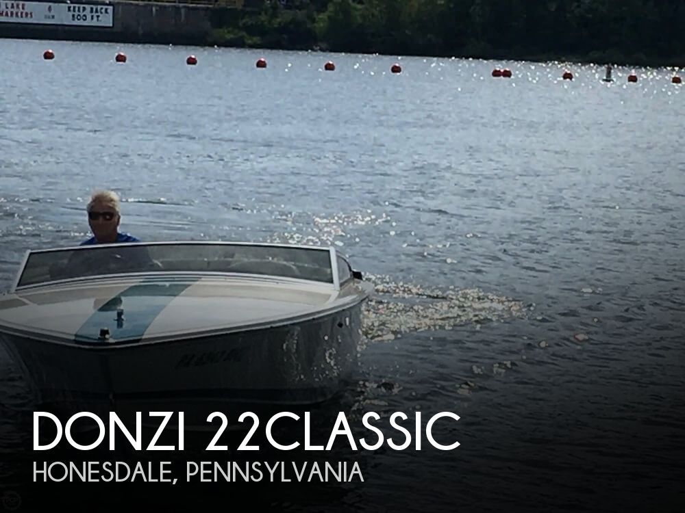 Used Boats For Sale in Scranton, Pennsylvania by owner | 1993 Donzi 22