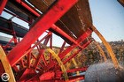 Paddle Wheel In Motion