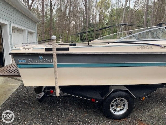 1989 Correct Craft boat for sale, model of the boat is Martinique C/B & Image # 14 of 41