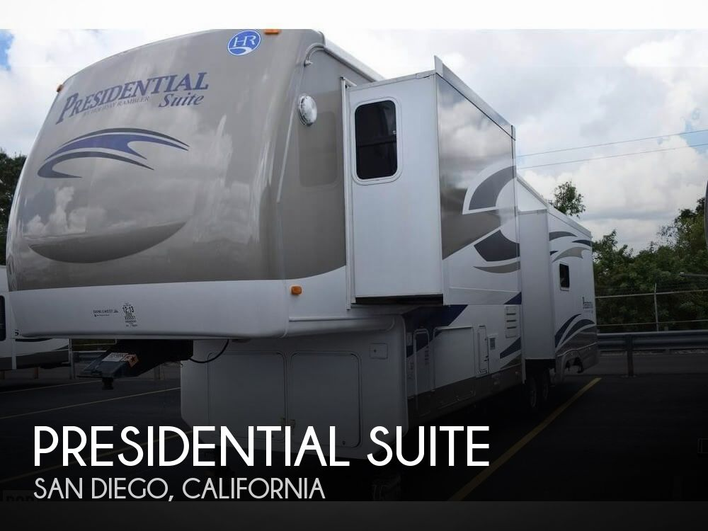 2009 Holiday Rambler Presidential Suite 36RLT