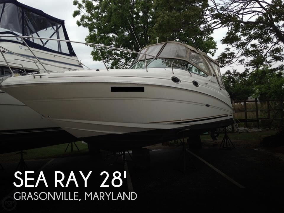 Used Sea Ray Boats For Sale in Maryland by owner   2003 Sea Ray Sundancer 280