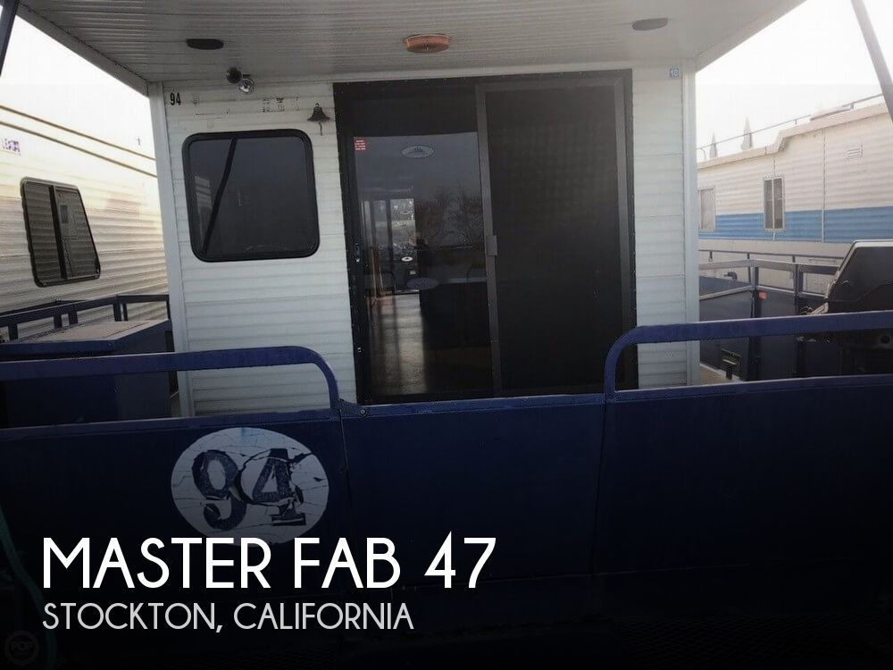 Used Houseboats For Sale in California by owner | 1981 Master Fabricators 47