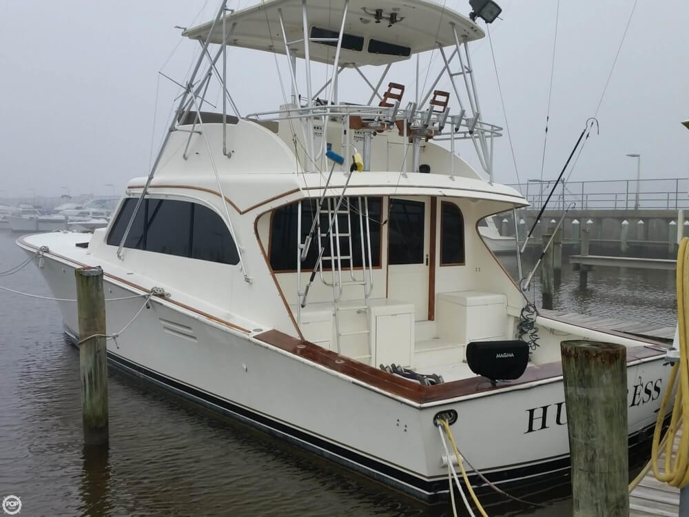 1986 Post Marine boat for sale, model of the boat is 50 SportFish & Image # 2 of 40